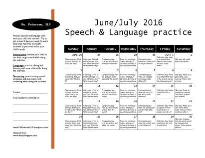 2016 summer practice calendar preview