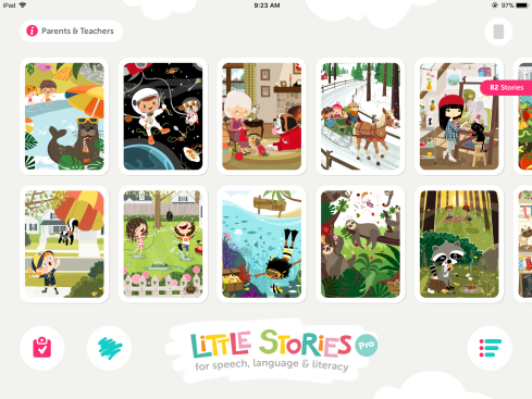 Little Stories home