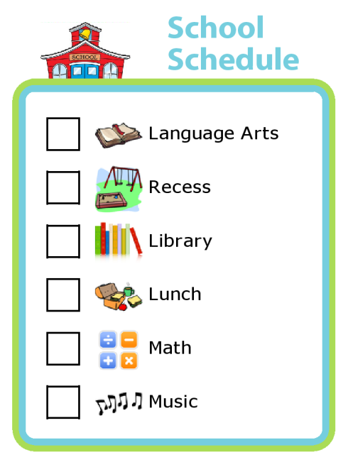 schoolschedule